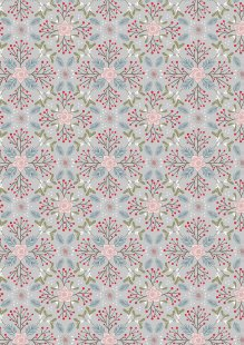 Lewis & Irene - Winter In Bluebell Wood C45.2 Winter floral grey