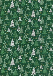Liberty - A Festive Collection Noel Forest 749B Green