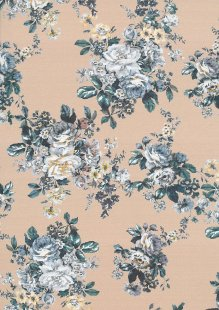 Lady McElroy Cotton Lawn - Camellia Blush Taupe-849