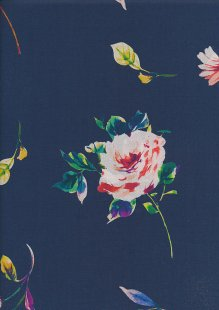 Lady McElroy Cotton Lawn - Floral Confetti Blue-850