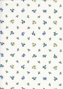 Liberty The Orchard Garden - Pome Blossom Blue 04775633/X