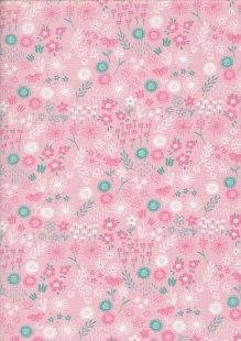 Leap In To Spring - Floral Pink