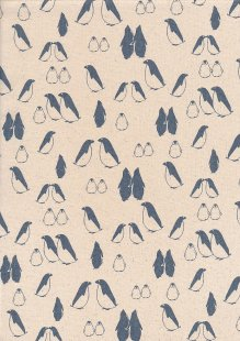John Louden Scandi Christmas - Penguin Nat/Grey JLX0025GREY