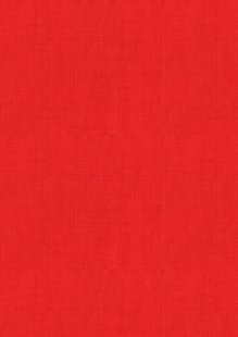 Makower Scandi Christmas - 1473/R Linen Texture Red
