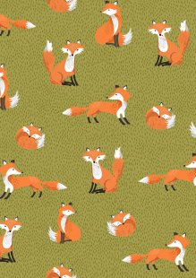 Makower - Forest 2172 G Foxes