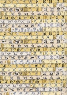 Makower Haberdashery - Tape Measure 1702-Y