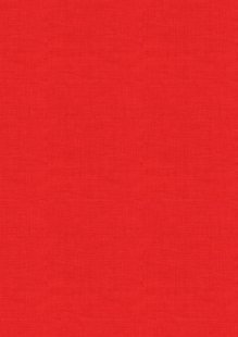 Makower - Linen Texture 1473/R Red
