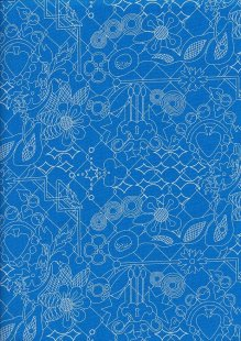 Makower Sun Prints - Bluebonnet 8482-T