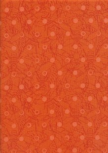 Makower Sun Prints - Carrot 8484-O