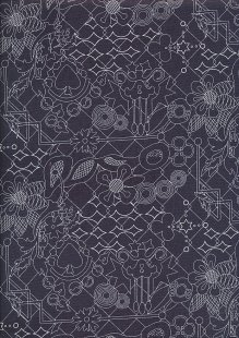 Makower Sun Prints - Raven 8482-K