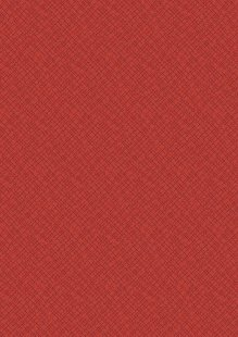Makower Trinkets 2020 - 2/9004R Weave Red