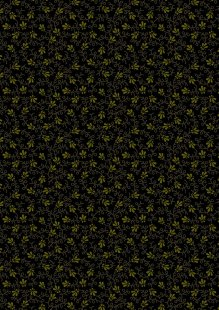 Makower Trinkets 2020 - 2/9016K Dotty Vine Black