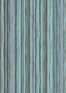 Makower - Woodland 1899/S2 Woodland Stripe Dark