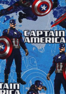 Marvel Collection - Captain America Map