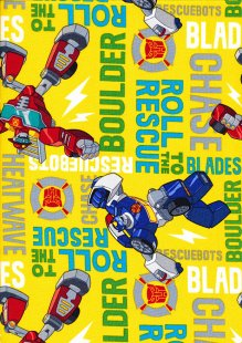 Marvel Collection - Transformers Roll To The Rescue Yellow
