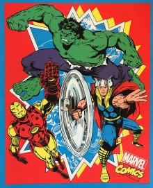 Marvel Collection - Iron-Man, Thor & The Hulk Panel