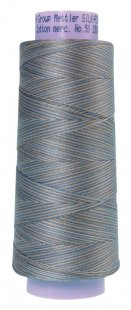 Silk-Finish Multi Cot 50 1372m AM9090-9843 Silvery Blues