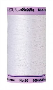 Silk-Finish Cotton 50 500m XS AM9104-2000 White