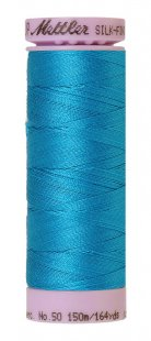 Silk-Finish Cotton 50 150m XS AM9105-1394 Caribbean Blue