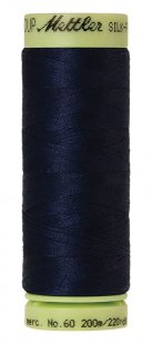 Silk-Finish Cotton 60 200m XS AM9240-0825 Navy