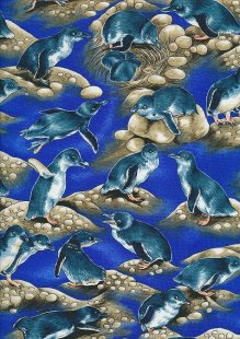 Novelty Fabric - Puffins