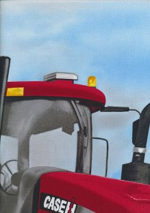 Novelty Fabric - Tractor Panel