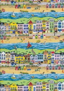 Novelty Fabric - Shops By The Sea