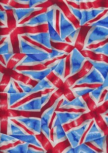 Novelty Fabric - Union Jacks