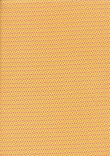 Andover Fabrics Over The Rainbow By Kathy Hall - Spots & Dots Yellow