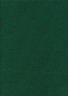 P & B Textiles - Bear Essentials Emerald Green