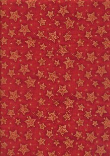 Paintbrush Studio - Season's Greetings Stars Red