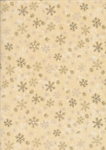 Paintbrush Studio - Season's Greetings Snowflakes Cream