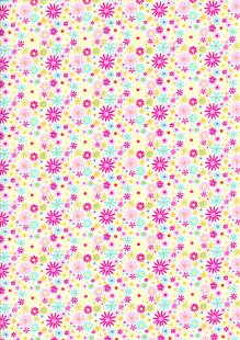 Rose & Hubble Pressed Daisy - Multicoloured CP0436 Col 01