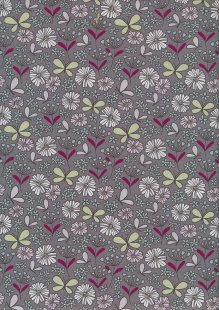 Fabric Freedom - Quality Cotton Print SM3 Floral