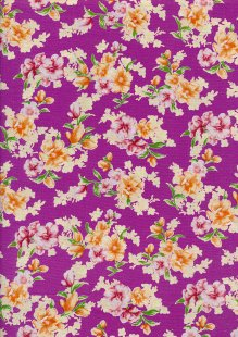 Fabric Freedom - Quality Cotton Print QCP12 Floral