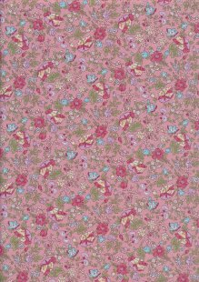 Fabric Freedom - Quality Cotton Print CTS393-3 Floral