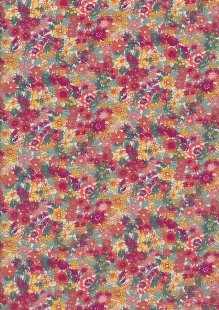 Fabric Freedom - Quality Cotton Print CTS457-1 Floral