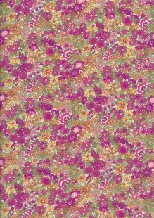 Fabric Freedom - Quality Cotton Print CTS457-3 Floral
