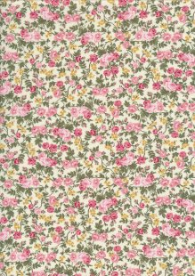 Fabric Freedom - Quality Cotton Print CTS456-3 Floral