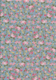 Fabric Freedom - Quality Cotton Print CTS456-14 Floral