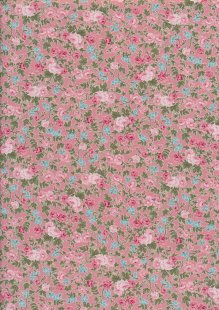 Fabric Freedom - Quality Cotton Print CTS456-1 Floral