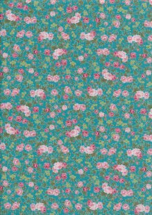 Fabric Freedom - Quality Cotton Print CTS456-2 Floral