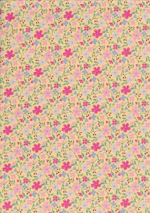Fabric Freedom - Quality Cotton Print CTS602-1-5 Floral