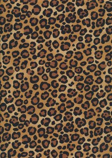 Rose & Hubble - Quality Cotton Print CP-0045 Beige Leopard Skin