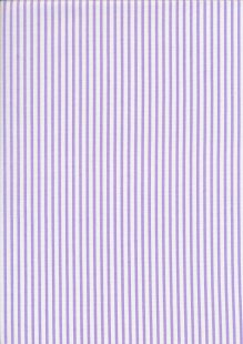 Fabric Freedom - Quality Cotton Print Stripe FF-5692 Violet/White