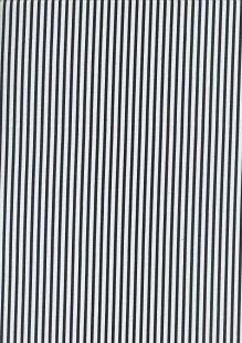 Fabric Freedom - Quality Cotton Print Stripe FF-5692 Black/White