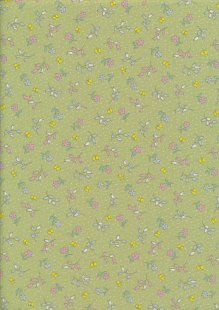 Rose & Hubble - Quality Cotton Print CP-0860 Meadow Floral