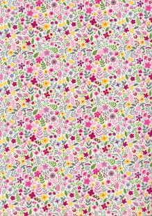 Rose & Hubble - Quality Cotton Print CP-0872 Pink Floral