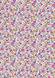 Rose & Hubble - Quality Cotton Print CP-0803 Pink Floral