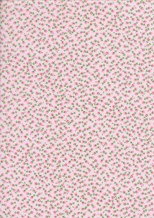 Rose & Hubble - Quality Cotton Print CP-0834 Rose Floral